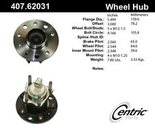 Wheel Bearing and Hub Assembly-4-Wheel ABS Rear Centric 407.62031E