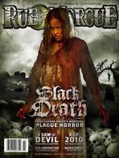 RUE MORGUE #108 Black Death,Saw the Devil, Masque of Red Death NEW UNREAD