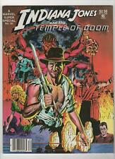 Marvel Super Special no. 30 Indiana Jones and the Temple of Doom Nm- 9.2 084