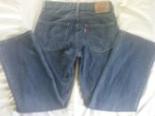 Levis 550 Jeans Relaxed Fit Size 14 Regular 27x27 Red Tag 100% Cotton Blue