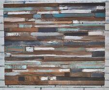 Reclaimed Barn Wood Rustic Art Urban Chic Beachy Decor Distressed Pallet Wood