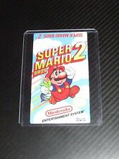 Super Mario Bros 2 Nes Cartridge Replacement Game Label Sticker Precut