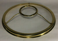 "New 10"" Fitter Solid Brass Shade Ring Holder For Rayo & Central Draft Burner 731"