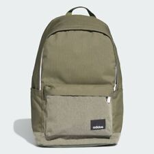 BRAND NEW $48 ADIDAS TRAINING LINEAR CLASSIC CASUAL BACKPACK DT8644 RAW KHAKI