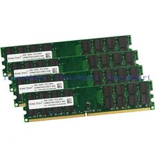 New 16GB 4x4GB DDR2 667MHZ PC2-5300 240pin Desktop Memory DIMM RAM fit AMD CPU