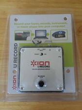 BRAND NEW AND SEALED ION U RECORD USB AUDIO RECORDING KIT