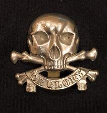 17th/21st Lancers Motto x 100% Original Cap Badge