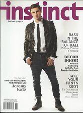 Instinct gay magazine Jeremy Katz Annual underwear issue Bali Home decor tips