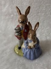 ROYAL DOULTON BUNNYKINS FIGURE MOTHER, FATHER, VICTORIA DB 68  BOXED