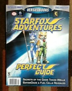 Star Fox Adventures Versus Books Official Strategy Game Guide