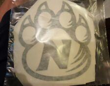 5x5 Northwest missouri state university bearcats vinyl decal green or white.