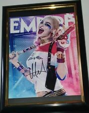MARGOT ROBBIE - HAND SIGNED WITH COA SUICIDE SQUAD - PHOTO 8x10 PHOTO FRAMED