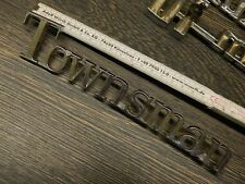 """1969-1972 Chevrolet """"TOWNSMAN""""-Schriftzug/Script Seitenwand/Quarter Pnl.,New-NOS"""