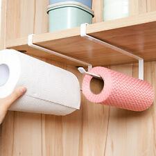 Kitchen Accessories Paper Roll Rack Under Cabinet Towel Holder/Tissue Hanger New