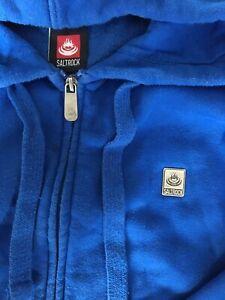 Saltrock Hoodie Mens XL Blue