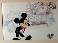 Vintage Mickey Mouse, Minnie, Goofy, Pluto Sericel Animation Gallery Cel Art