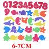 34Pcs Giocattolo da Bagno Bagnetto Puzzle Schiuma Galleggiante Bambino Bambina