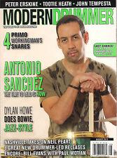 MODERN DRUMMER August 2015 Cover ANTONIO SANCHEZ Dylan Howe Peter Erskine steve
