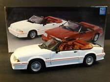 GMP 1989 Ford Mustang GT Convertible White 1:18 Scale Diecast #120 of 150 Car