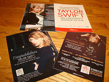 TAYLOR SWIFT 2015 4 Grammy ads for '1989' & Billboard's Woman of the Year