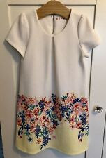 Girls Lovely Floral Dress & Cardiagn - Age 4-5