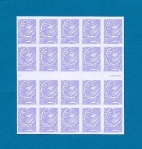 US Stamp - 2006 Wedding Dove Hearts - Booklet Pane 20 Stamps #3998a Face $7.80
