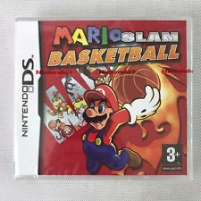 Brand New Sealed Mario Slam Basketball Nintendo DS PAL RARE