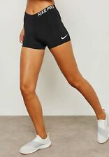 """NEW Nike Pro 3"""" Womens Compression Shorts tights 889577 010 Size XL"""