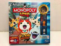 Monopoly Junior Yo-Kai Watch von Hasbro Brettspiel Gesellschafts Familien Kinder