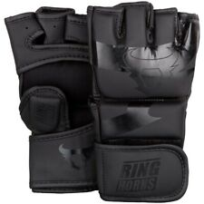Ringhorns MMA guantes, Charger, negro mate, Grappling, gloves, freefight