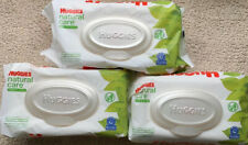 Huggies Natural Care Sensitive Baby Wipes Lot of 3 56 Ct  Each Pack (168 Total)