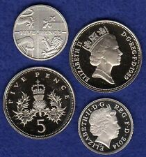 More details for great britain, proof 5p, 5 pence coin, choice of year, choose your date