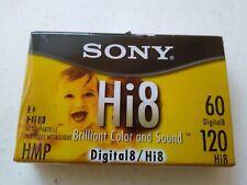 New Sealed Sony Hi8 Metal-P Video Cassette Camcorder Tape 60 Digital8 120 Hmp