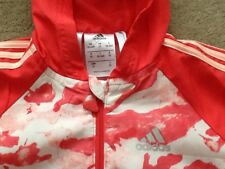 NEW Baby Girl 18-24 Months Coral Adidas Hooded 2 Piece Tracksuit Immaculate