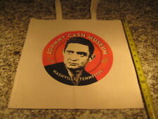 "Johnny Cash Museum canvas tote bag Nashville Tennessee young image 15"" x 15"""
