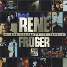 RENE FROGER - THE PLATINUM EDITION (2004 RARE 2-CD + DVD BOXSET)