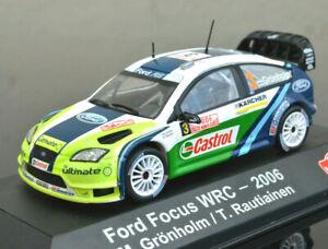 FORD FOCUS WRC 1:43 Scale RALLY Car Model Metal Miniature BP Ultimate
