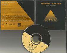 ELTON JOHN & LEANN RIMES Written In the Stars PROMO Radio DJ CD single 1998 USA