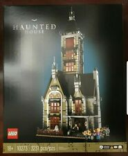 LEGO FAIRGROUND 10273 Haunted House NISB New & Sealed 3231 pcs IN HAND FREE SHIP