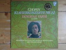 DINORAH VARSI-Chopin-Piano Concerts Nº 1-2 - édition spéciale avec supplément