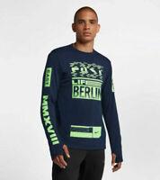 Nike Sphere Therma Element Berlin 2018 Running Top Shirt 2XL $80 NEW 933331-451