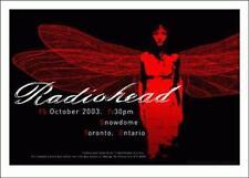 RADIOHEAD - 2003 TOUR POSTER - SNOWDOME - TORONTO - THOM YORKE - KING OF LIMBS