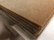 Kevlar Nomex honeycomb, 1/2, 6'x4' sheets (cut into eight 2'x1.5' for shipping)