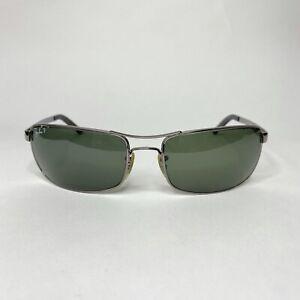 Ray Ban Sunglasses Frame RB3212 004/9A 61-18 3P Silver Gunmetal