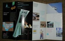 Olympic Park Montreal Vintage French Brochure - Great Condition - Very Rare