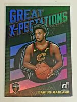 2019-20 Panini Donruss Great-Xpectations RC Daruis Garland Green Flood Holo #19