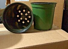 "1 gallon plastic nursery garden plant pots 6 ""  x   6 "" ( Lot of 500 )"