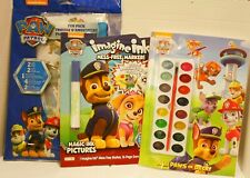 Paw Patrol Activity Game Coloring Painting Books Stickers Posters - 3pc