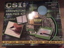 Csi: Crime Scene Investigation Handwriting Analysis Kit Toy Set* Boys & Girls