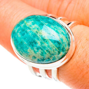 Amazonite 925 Sterling Silver Ring Size 8 Ana Co Jewelry R76031F